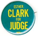 Esther Clark for Judge