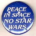 Peace in Space. No Star Wars