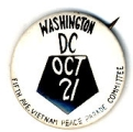 Washington DC; Oct. 21; Fifth Ave. Vietnam Peace Parade Committee