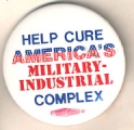 Help Cure America's Military-Industrial Complex