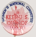 Keep U.S. Out Of War!; Women's National Committee