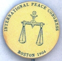 International Peace Congress; Boston; 1904