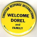 Welcome Dorel And Family; Christian Response International; Box 24042, Washington, DC 20024