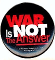 War Is Not the Answer; Sojourners Magazine, Box 29272; Washington DC 20017