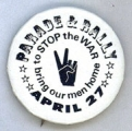 Parade & Rally to Stop The War; Bring Our Men Home; April 27