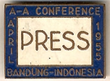 Press; A-A Conference; Bandung-Indonesia; April 1955