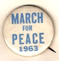 March for Peace; 1963