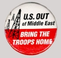 U.S. Out of Middle East; Bring The Troops Home