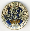 XVII Peace Congress; London; 1908
