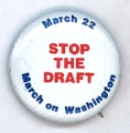 Stop the Draft; March on Washington; March 22