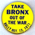 Take Bronx Out of the War. Rally. Oct. 13, 1971