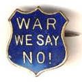 War; We Say No!