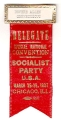 Delegate; Special National Convenion; Socialist Party U.S.A.; March 26-29, 1937; Chicago, Ill.