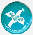 End Viet Nam War Now! Garden Rally Dec. 8
