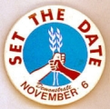 Set the Date; Demonstrate; November 6