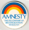 Amnesty; The Fellowship of Reconciliation, Nyack, NY