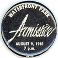 Armistice; Waterfront Park; August 9, 1981; 7 p.m.