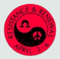 Resistance & Renewal; April 3-6