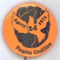 April 24 1971; People's Coalition