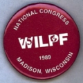WILPF; National Congress; 75; Madison, Wisconsin; 1989