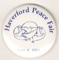 Haverford Peace Fair; June 4, 1983