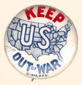 Keep U.S. Out of War; 1939; A.F.G.