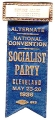 Alternate; National Convention; Socialist Party; Cleveland; May 23-26, 1936