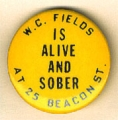 W.C. Fields Is Alive And Sober At 25 Beacon St.