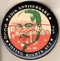Voting Rights Act; SCLC; 20th Anniversary; VEP; 1965-1985; Edmund Pettus Bridge