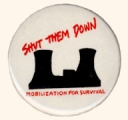 Shut Them Down; Mobilization For Survival