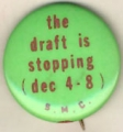 Draft Is Stopping, The; (Dec. 4-8); S.M.C.