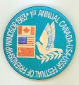 1st Annual Canada-USA-USSR Festival of Friendship; Windsor 1983