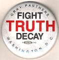 Fight Truth Decay. Gray Panthers. Washington, D.C.