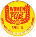 Women Strike For Peace; April 15; Spring Mobilization To End The War In Vietnam