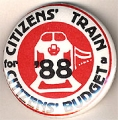 Citizen's Train for a Citizens' Budget; '88