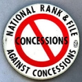 National Rank & File Against Concessions