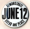 Demonstrate. June 12. Bread And Peace.