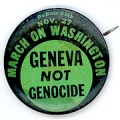 Nov. 27. March On Washington. Geneva Not Genocide. Dubois Club.