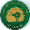 March For A Non-Nuclear World; April 26-28, 1980
