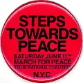 Steps Towards Peace; Saturday June 11th; March For Peace; SSD III National Coalition; N.Y.C.