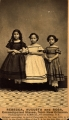 Rebecca, Augusta, and Rosa — emancipated slaves from New Orleans