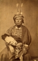 Nag-ga-rath; head chief of Iowa tribes