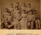 Carlisle Indian School — Chiricahua Apaches, 4 months after arrival