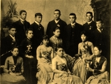 Carlisle Indian School — a graduating class