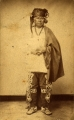 To-hee (Brier); Iowa chief — standing, Indian dress