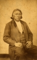 To-hee (Brier); Iowa chief — seated, western dress