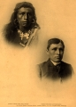 Carlisle Indian School — student, before & after
