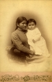 Carlisle Indian Agency — mother and baby