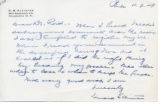 Letter to Ira De. A. Reid, November 7, 1949