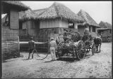 Disinfecting a house in which there has been Asiatic cholera